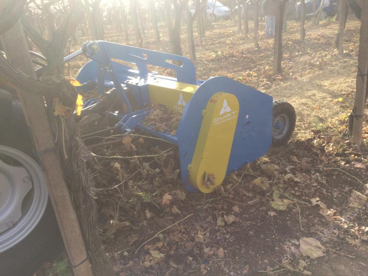 Trituradora de restos de poda y sarmientos OMAT TS