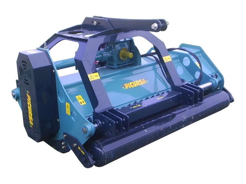 Trituradora de tractor modelo TB reversible desplazable