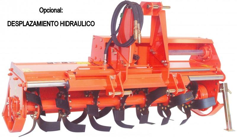SF 125 a 185 cm > Desplazamiento mecánico - para tractores de 20 a 50 HP