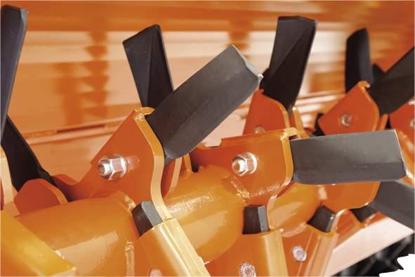 Foto 2 Rotor especial MACHETES > RGM de 230 a 305 cm para tractores de 90 a 160 HP