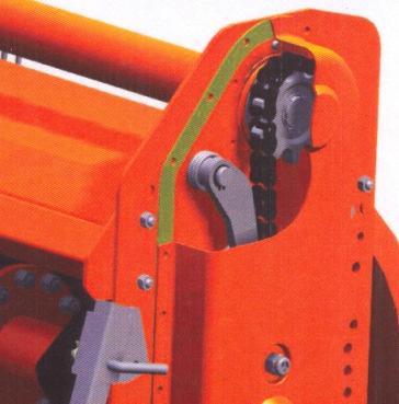 Sicma BH 100 a 145 - Para tractores de 15 a 30 HP y T.F. a 540 r.p.m. - 5