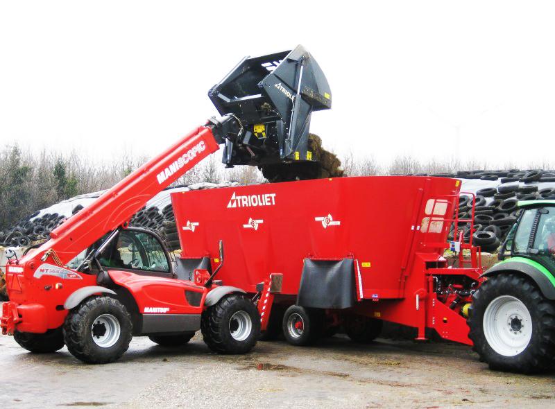 Foto 2 Triomaster S 200, 300 y 400 > BOCA - desensiladora - cargadora