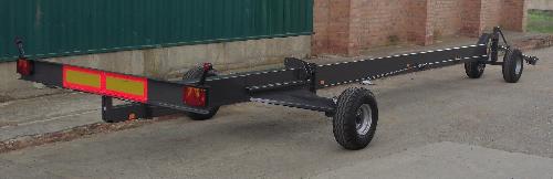 Muñoz carro porta peines cosechadora galera - 7