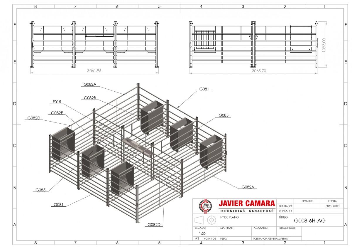 Javier Camara G008 6H - Resto de modelos - 6