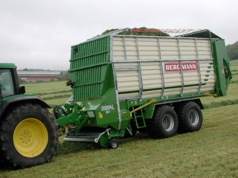 > ROYAL 28 S - 50,4 m³ - Pick-up 1,90 m. - eje tandem 16 Tons. - freno hidráulico