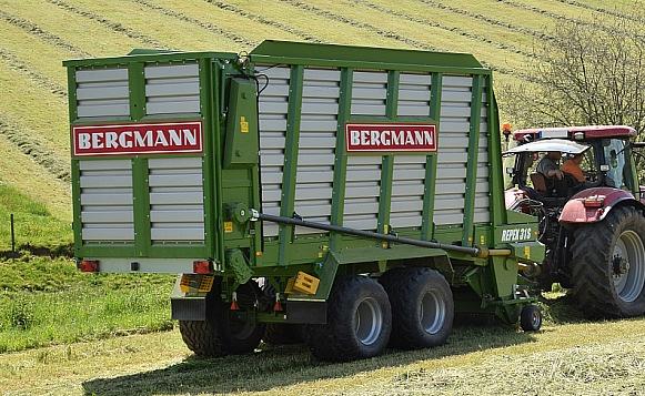 > REPEX 31 S - 56 m³ - Pick-up 1,94 m. - eje tandem 18 Tons. - freno hidráulico