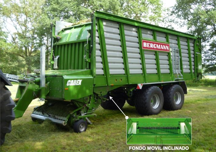 > CAREX 39 K - 70,2 m³ - Pick-up 1,94 m. - eje tandem 24 Tons. - freno hidráulico