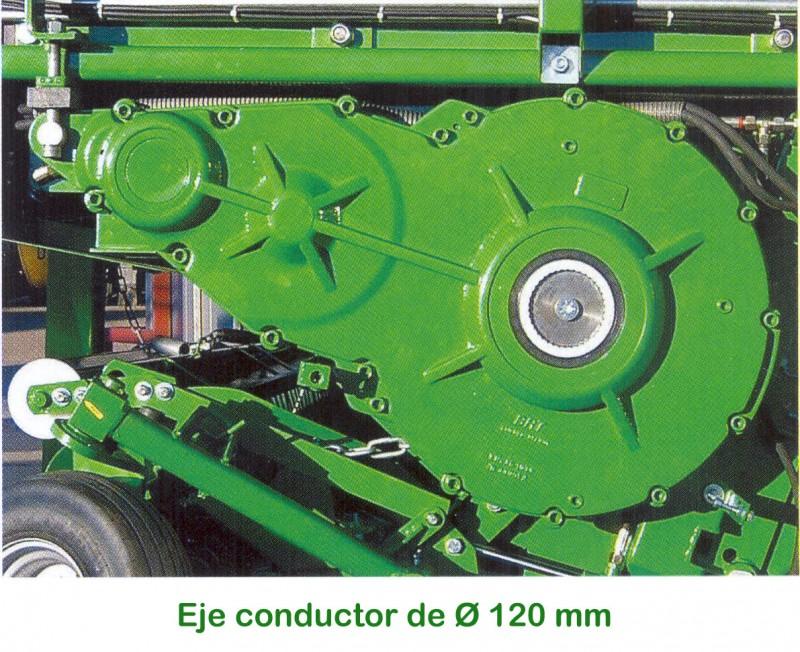 Foto 3 > SHUTTLE 900 K - 79,2 m³ - Pick-up 2,27 m. - eje tandem 23 Tons. - freno hidráulico