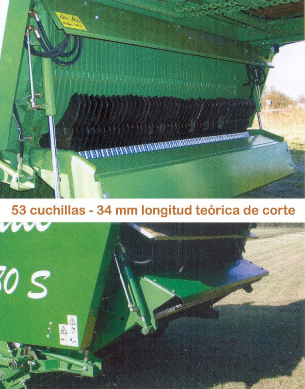 Foto 4 > SHUTTLE 860 S - 75,6 m³ - Pick-up 2,27 m. - eje tandem 23 Tons. - freno hidráulico