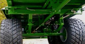 Foto 5 > TSW 2120 T - ESPARCIDOR HORIZONTAL DE ESTIERCOL - Eje tandem 12 Tons.