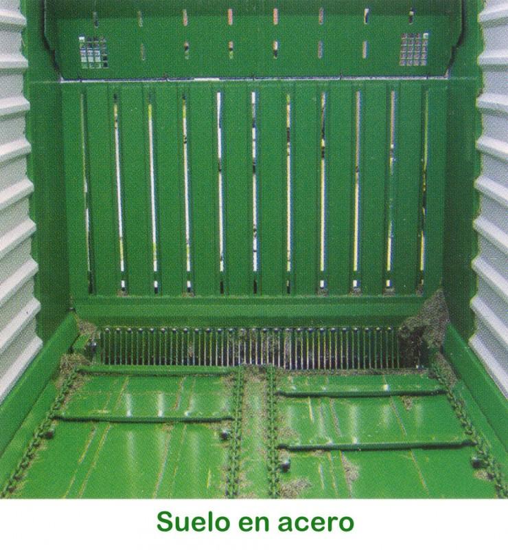 Foto 6 > SHUTTLE 900 K - 79,2 m³ - Pick-up 2,27 m. - eje tandem 23 Tons. - freno hidráulico