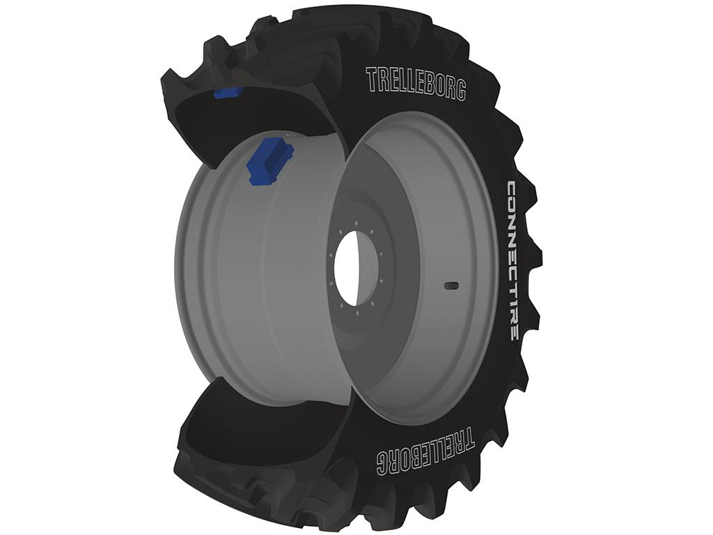 ConnecTire, la rueda inteligente diseñada para producir más, con menos. Inteligentemente.