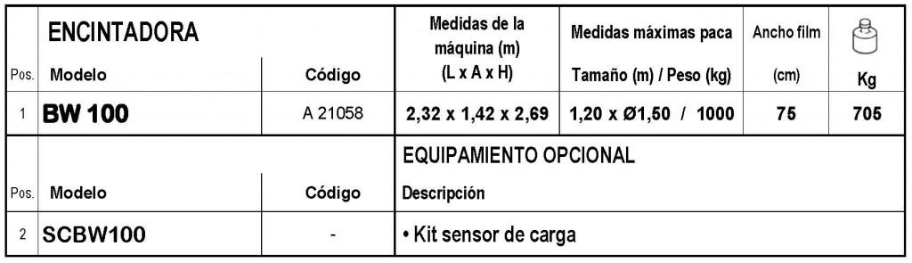 Enorossi BW 100 > AUTOMATICA - Envoltura por brazo rotante - 8