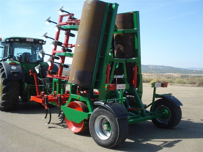 Larrosa Rulo cultivador Larrosa de 7 metros - 8
