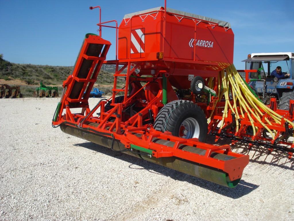Larrosa Sembradoras neumáticas con rulo para cereales - 2