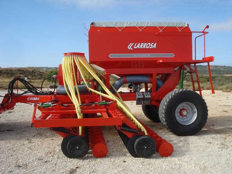 Larrosa Sembradoras neumáticas de siembra directa con discos para cereales - 2