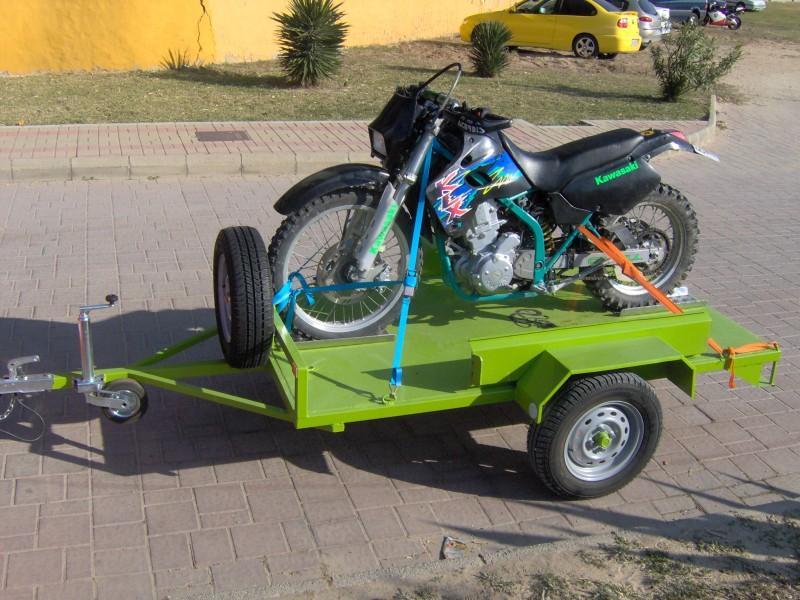Remolques Automoción 1 Eje Motos