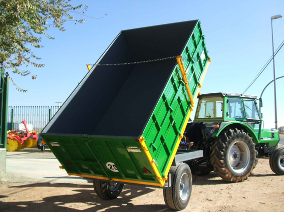 1 Axle Trailers