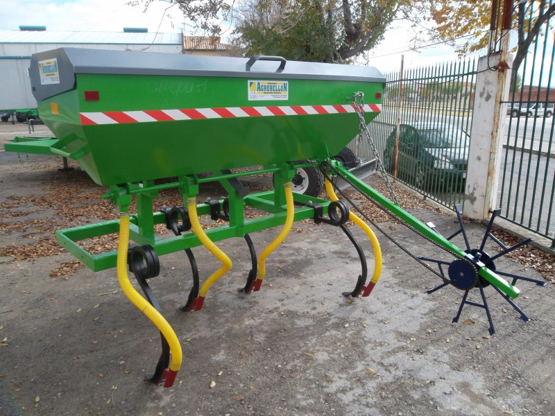 Implement with Fertilizer