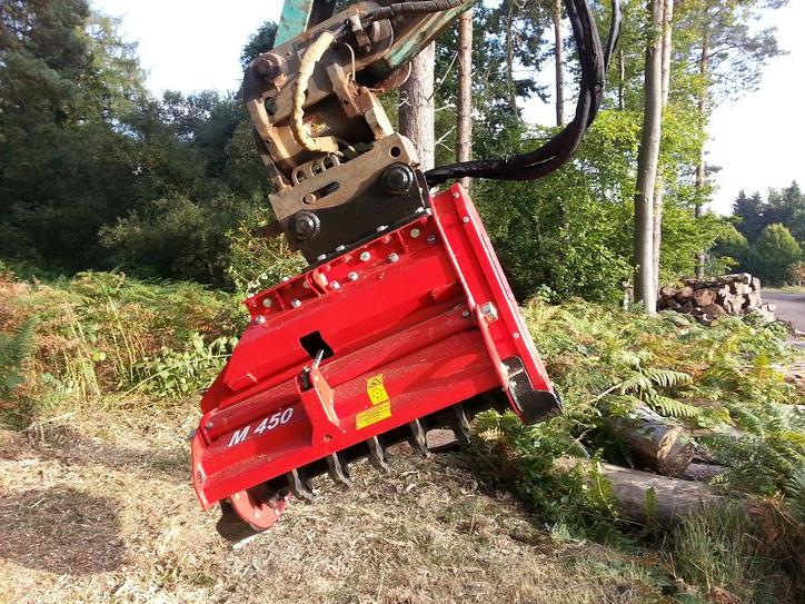 Trituradora Forestal M450e-1100