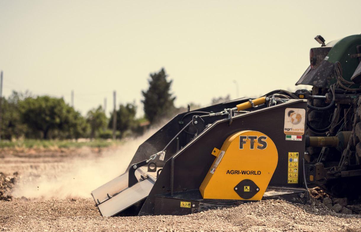 Trituradora de Piedras FTS 230.10 AgriWorld