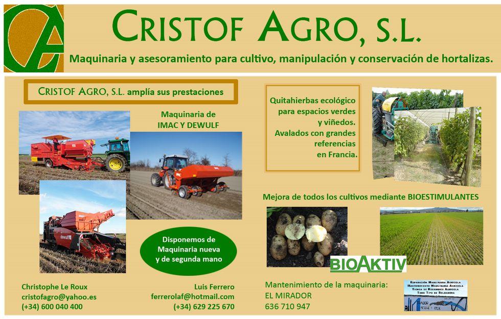 CRISTOF AGRO, S.L.