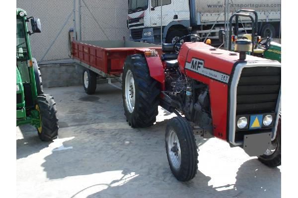 Complementos para Tractores M-F  CON REMOLQUE