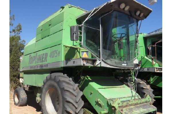 Cosechadoras de cereales  4075