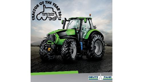 Serie 9 DEUTZ-FAHR galardonada con el �Golden Tractor for the Design�