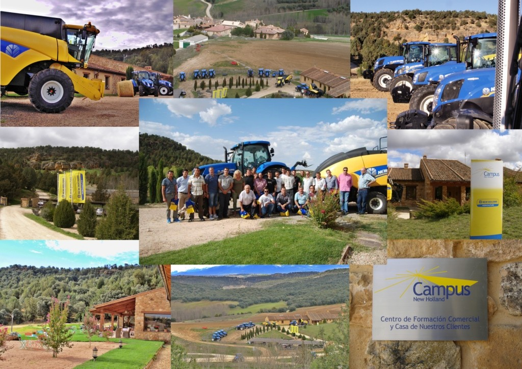 Visita al Campus de New Holland