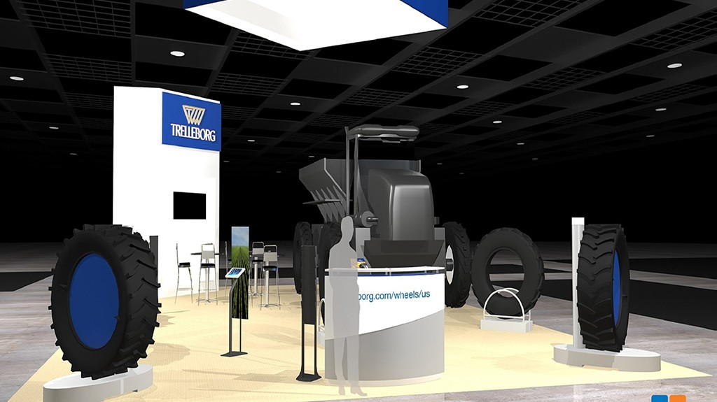Trelleborg expone sus neumáticos 'Made in USA' en Commodity Classic 2016
