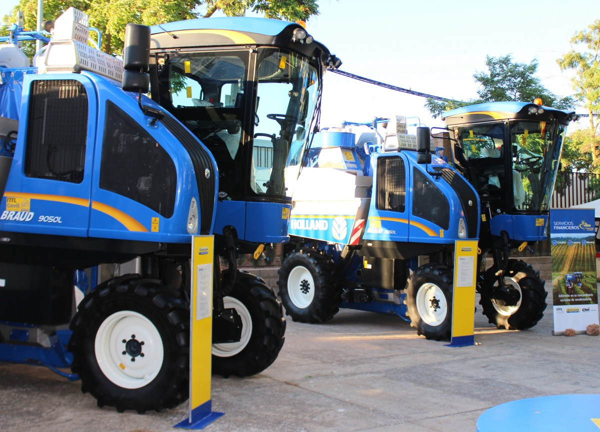 NEW HOLLAND EN FERCAM 2018