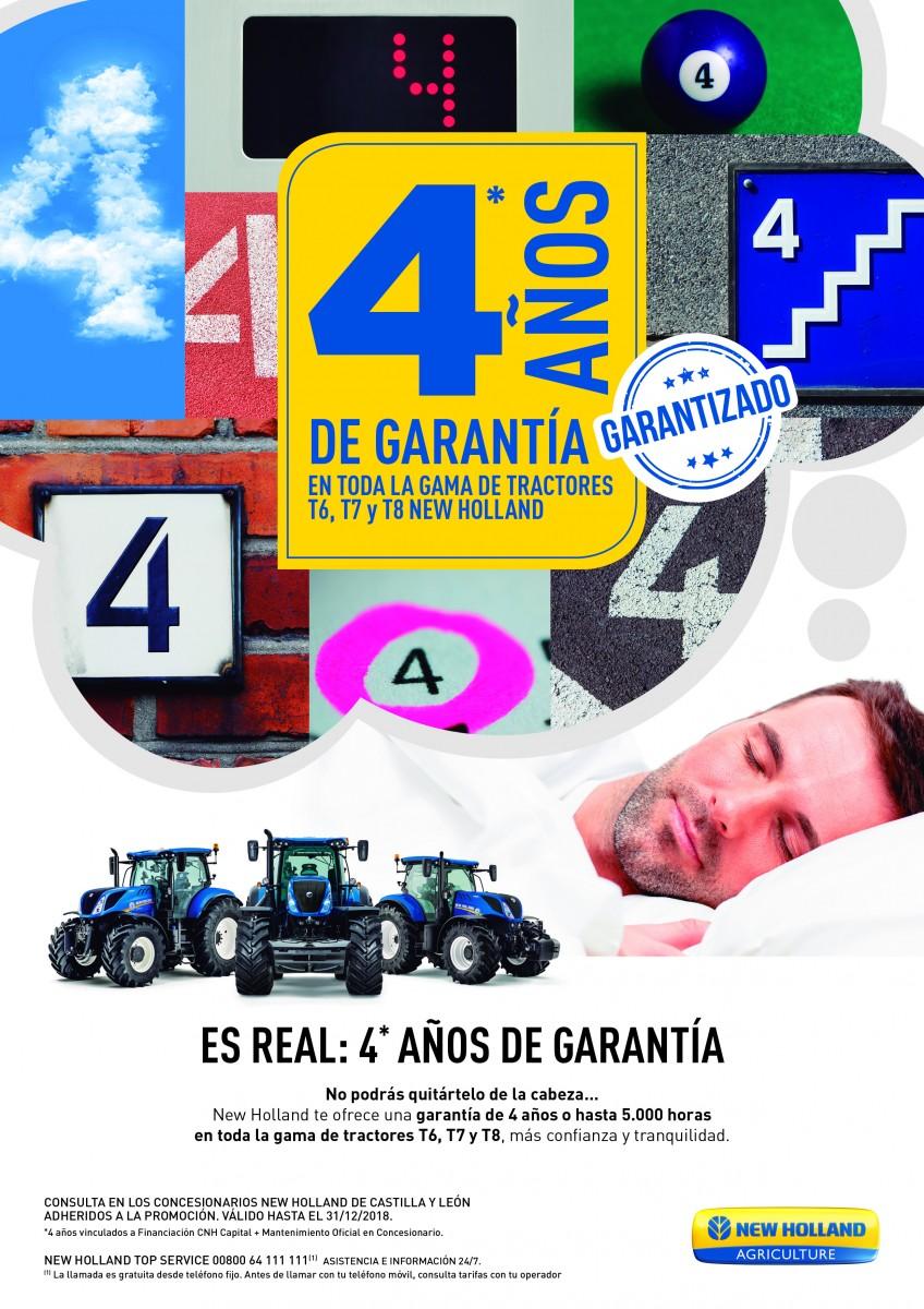 TRACTORES CON 4 AÑOS DE GARANTÍA