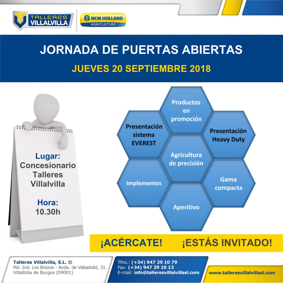 INVITACIÓN JORNADA DE PUERTAS ABIERTAS