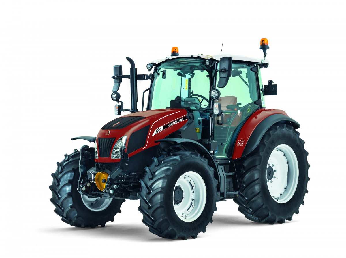 New Holland celebra 100 años del primer tractor FIAT