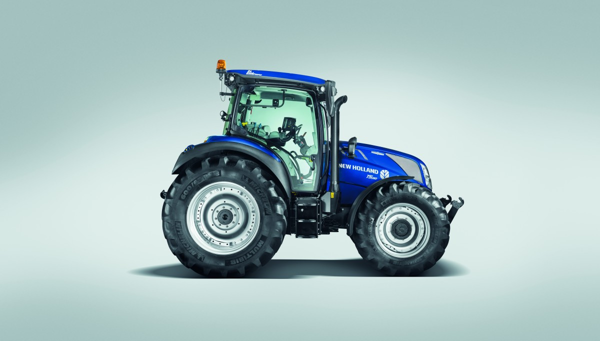 Nueva gama T5 Auto Command™ de New Holland Agriculture