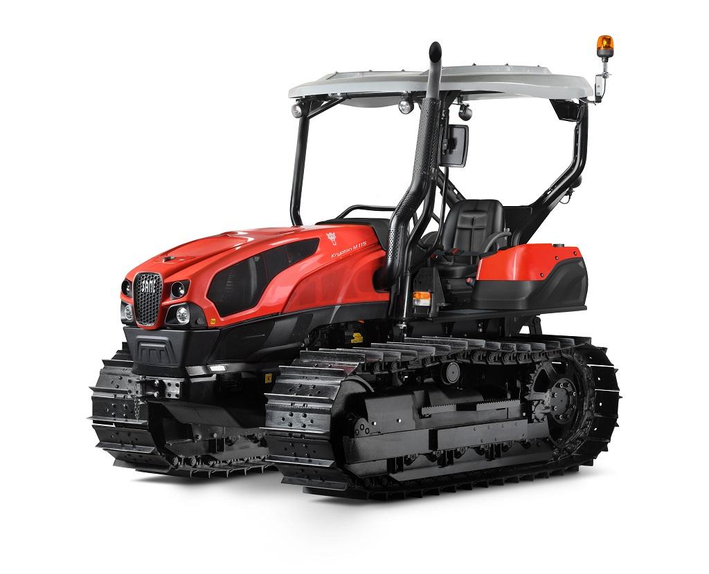 Same renueva toda la gama Krypton de tractores de cadenas