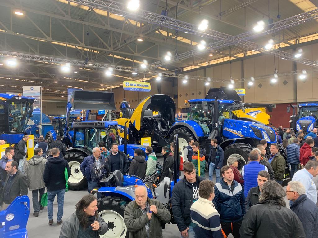 New Holland brilla en AGRARIA Valladolid 2019