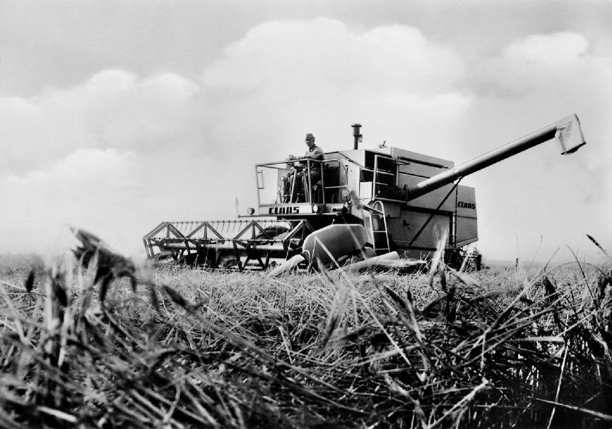 50 aniversario de la CLAAS DOMINATOR, un icono entre las cosechadoras desde hace medio siglo