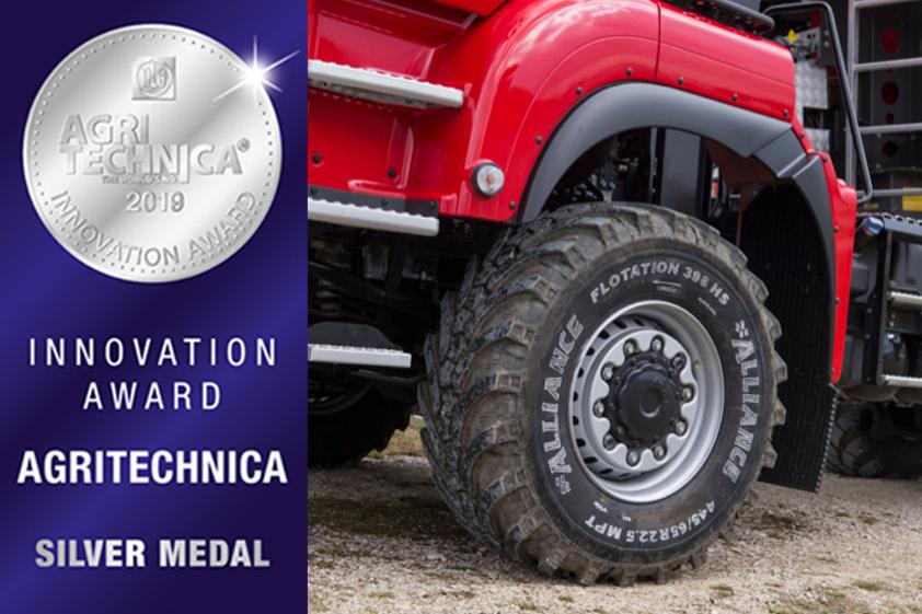 Alliance 398 MPT: galardonado con la medalla de plata en los premios a la innovación de Agritechnica - 0