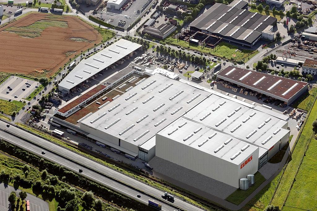 CLAAS amplía su Centro logístico de Hamm