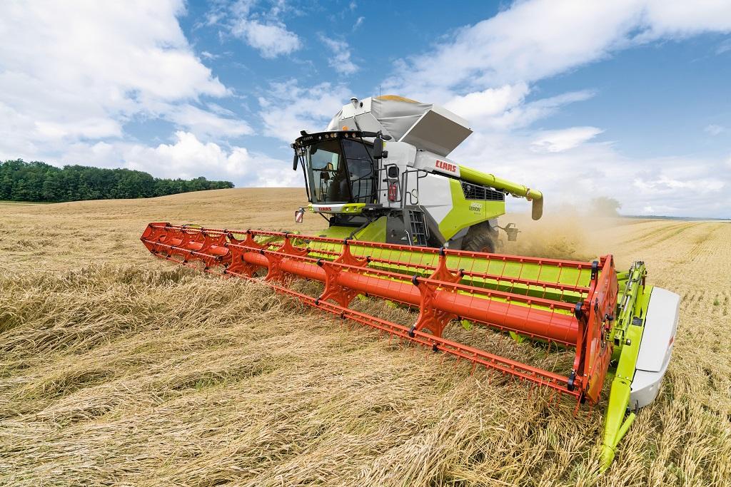 Aumento de las ventas en los mercados de maquinaria agrícola en los que hubo un ligero descenso.