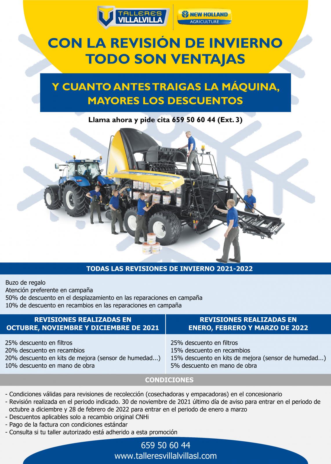 CAMPAÑA DE REVISIÓN DE INVIERNO 2021-2022