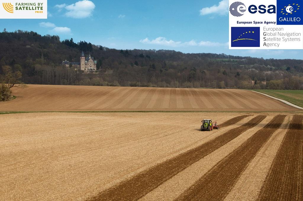 CLAAS patrocina el nuevo concurso de ideas FARMING BY SATELLITE