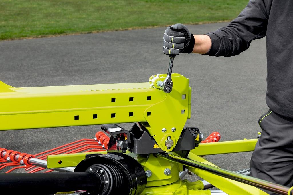 CLAAS presenta la nueva generación de hileradores de doble rotor con hilerado central  - 4