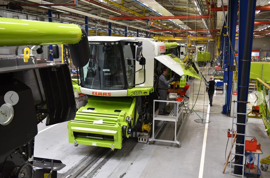 CLAAS reduce la producción en serie en Harsewinkel de manera controlada - 0