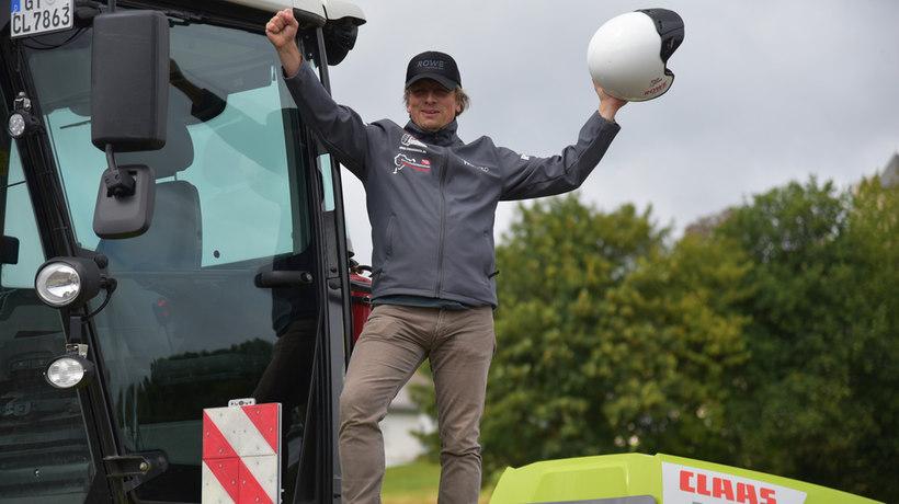 CLAAS XERION debuta en el Nordschleife
