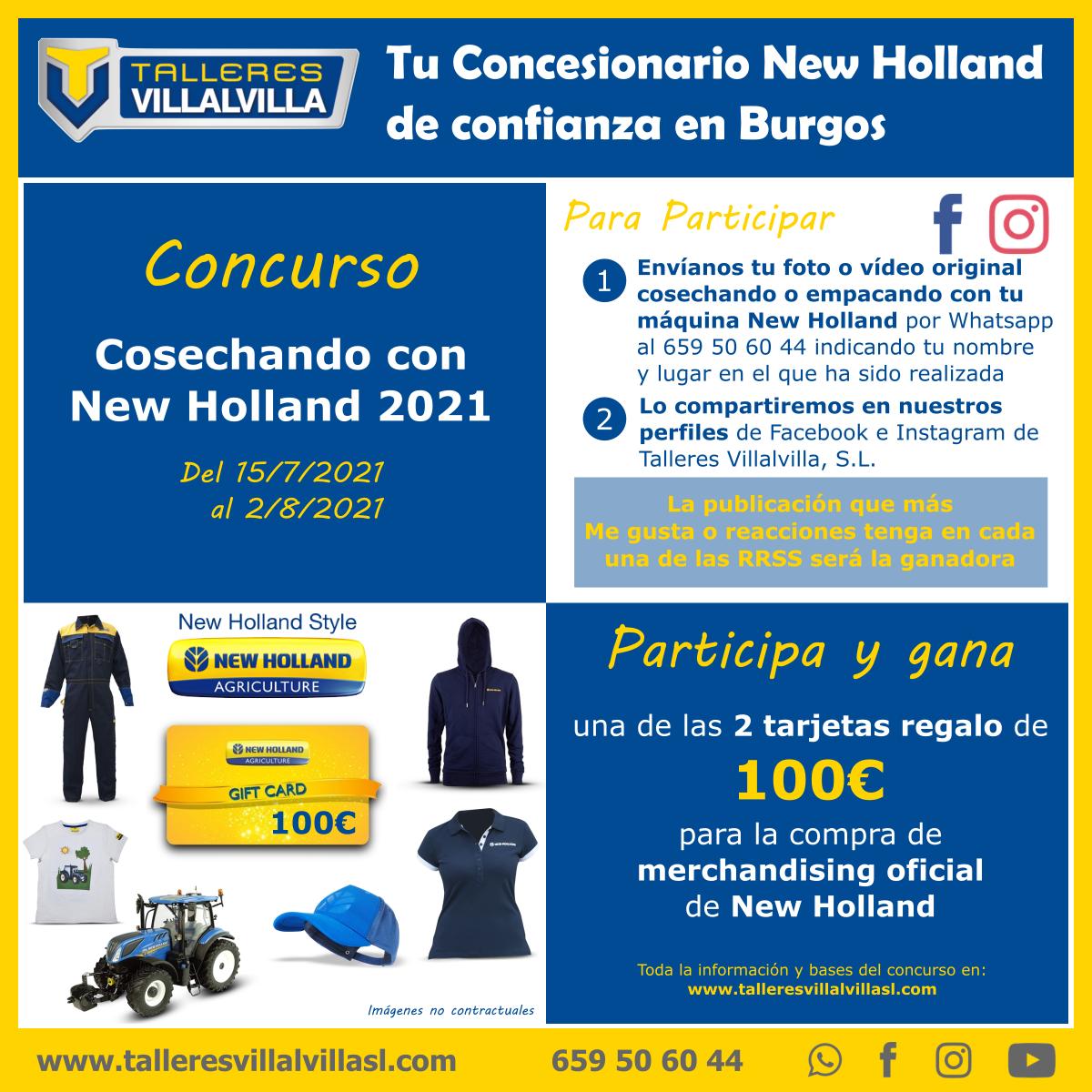 "Concurso ""Cosechando con New Holland 2021"""