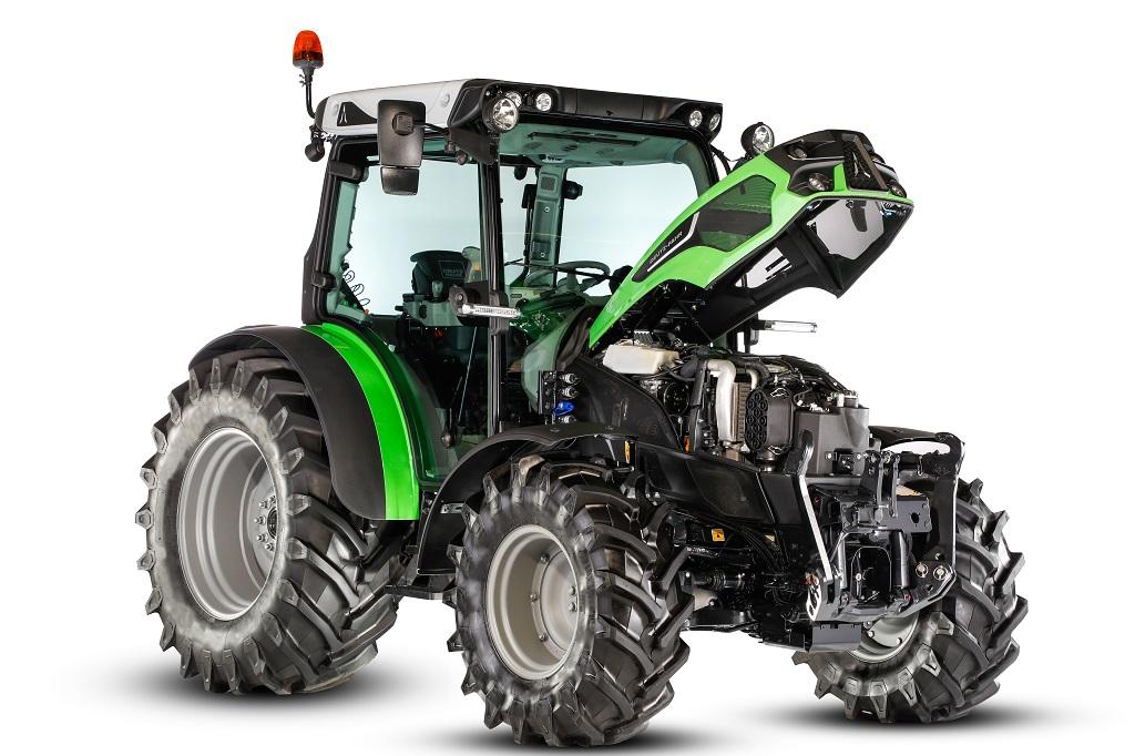 Deutz-Fahr 5D TTV: máxima versatilidad y tecnología avanzada