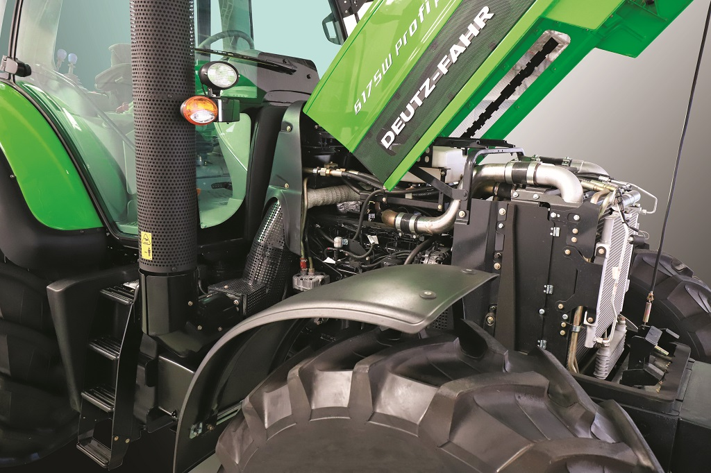 DEUTZ- FAHR 6W Profi Powershift